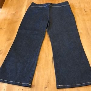 French Connection Stretch Cropped Jeans Sz 8P